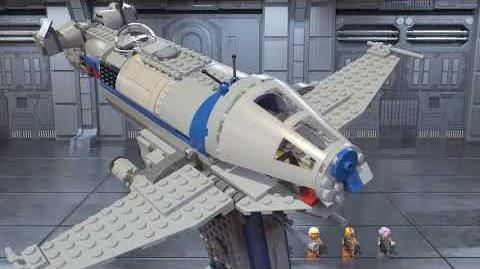 Resistance Bomber - LEGO Star Wars - 75188 Product Animations