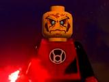 Красный фонарь-воин