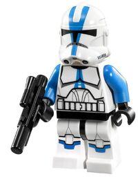 501st Clone Trooper sw445 met blaster