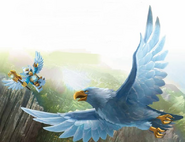 Eris and Eagle Legend Beast Art