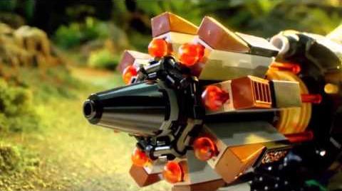 Lego ninjago 2015 cole's bolder blaster commercial HD