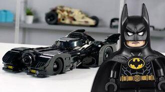 LEGO 1989 Batmobile Designer Video Exclusive LEGO Minifigures 76139