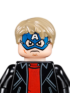 Masked Robber Captain America - 76082 - LEGO MARVEL Super Heroes 2HY17- Mugshot