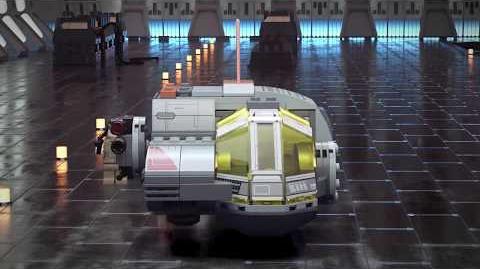Resistance Transport Pod - LEGO Star Wars - 75176 - Product Animation