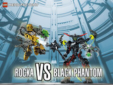 Rocka vs Blackphantom wallpaper