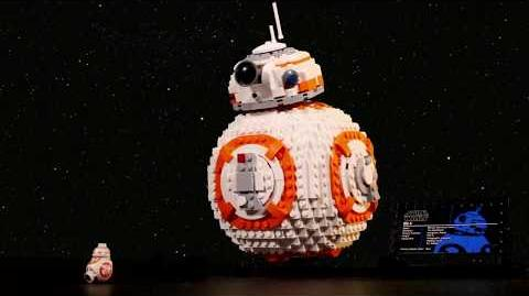 BB 8 - LEGO Star Wars - 75187 In-Boxing