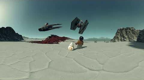 Kylo Ren's TIE Fighter - LEGO Star Wars - 75179 - Interactive Experience 360 Video