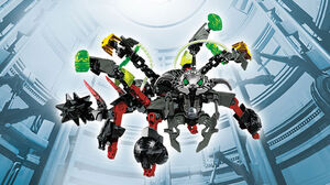 Rocka and Black Phantom Combiner Model art