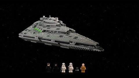 First Order Star Destroyer - LEGO Star Wars - 75190 In-Boxing