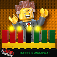 The lego movie kwanzaa