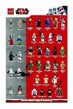 Star Wars 2009 Mini-figure Gallery