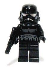 Shadow Stormtrooper lsw166 met blaster