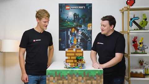 Introducing The Skeleton Attack Set - LEGO Minecraft - 21146 - Designer Video