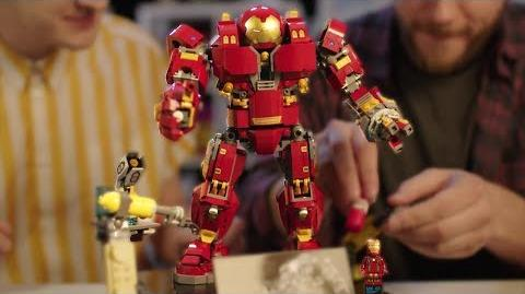 LEGO Hulkbuster Ultron Edition Designer Video Marvel Super Heroes LEGO 76105