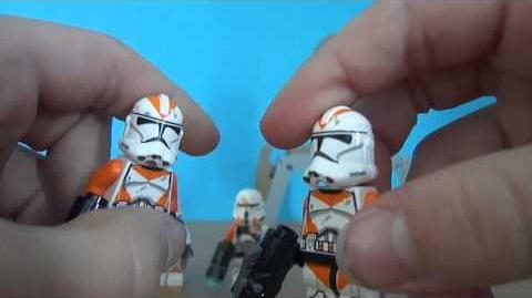 Lego StarWars 75036 Utapau troopers review