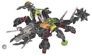 Rocka and Black Phantom Combiner Model handleiding
