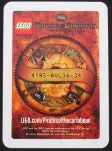 4643137 Blackbeard ruilkaart code