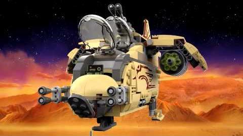 LEGO Star Wars 75084 Wookiee Gunship 3D LEGO Review
