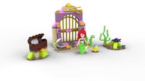 LEGO Disney Princess 41050 Ariel's Amazing Treasures Lego 3D Review