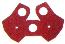 Pauldron (Stof) rood