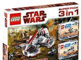 66341 Star Wars Super Pack 3 in 1
