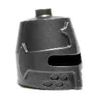 Helm 89520 (Castle,grote) grijs