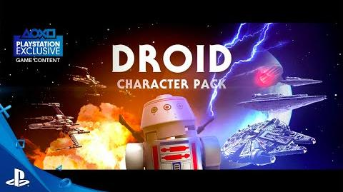 LEGO Star Wars The Force Awakens - Droids Character Spotlight Trailer PS4, PS3