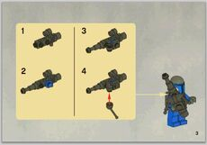 Tri-pod blaster handleiding