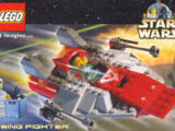 4323350 Postcard - Star Wars Set 7134 A-Wing Fighter