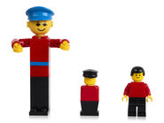 LEGO-building-figure-from-1974-stage-extra-from-1975-and-minifigure-from-1978-2