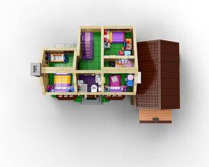 Lego 71006 1e verdieping