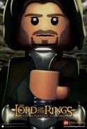 LOTR Return of the King Aragorn poster