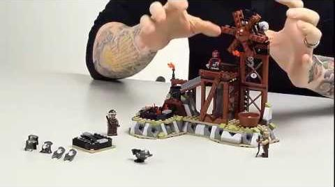 LEGO® The Lord of The Rings - The Orc Forge - www.firestartoys.com