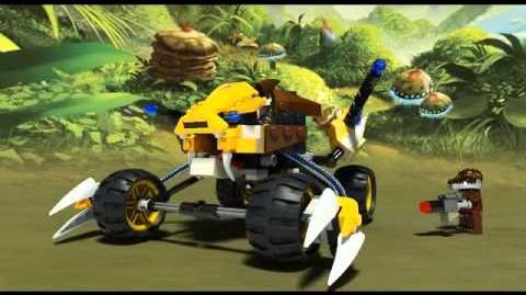 Lego Chima - 70002 - Lennox Lion Attack - Lego 3D Review