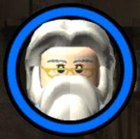 Professor Perkamentus (Vervloekt) Character Token