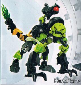 Evo and Toxic Reapa Combiner Model LEGO