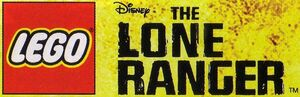 LEGO logo The Lone Ranger