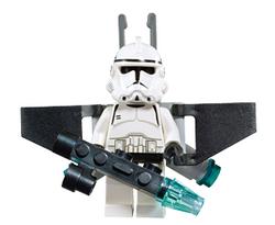 Clone Aerial Trooper met wapen