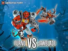 Furno vs. Jawblade wallpaper
