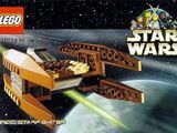 928174 Postcard - Star Wars Set 7111 Droid Starfighter