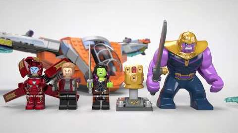 Thanos Ultimate Battle - LEGO Marvel Super Heroes - 76107 Product Animation
