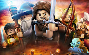 LEGO The Lord of the Rings The Video Game product