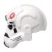 Helm (Imperial) 87556pb01 wit zijkant