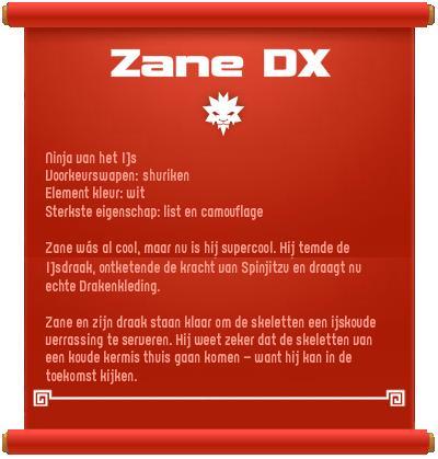 Zane DX bio