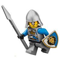 Koningsridder cas516 met wapen en schild