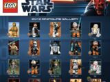 Star Wars 2012 Minifigure Gallery Poster