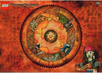 4644166 Queen Anne's Revenge Poster achterkant