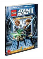 Star Wars III The Clone Wars Prima Guide blauw schuin