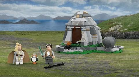 Ahch-To Island Training - LEGO Star Wars - 75200 Product Animation