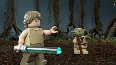 Yoda's Hut - LEGO Star Wars - 75208 Product Animation